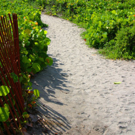 Entrance to One of Delray's Beaches