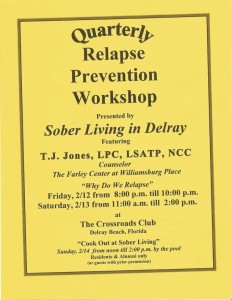 Relapse Prevention Workshop