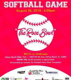 Softball Game: The Rose Bowl