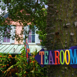 The Tea Room in Downtown Delray